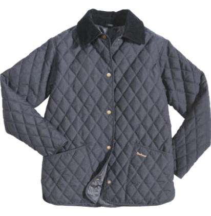 Womens Barbour Eskdale Quilted Jacket - Navy | Navy