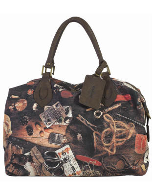 Barbour Table Top Travel Explorer Bag