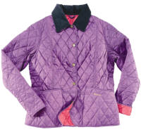 Barbour Ladies Summer Liddesdale Jacket - Plum | Fuchsia