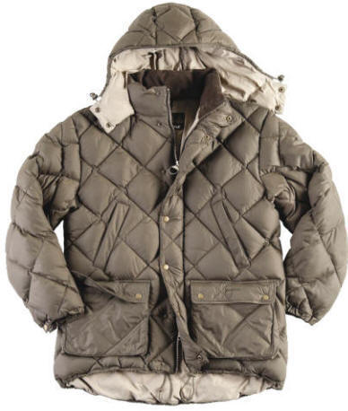 Barbour Down Explorer Jacket- Olive