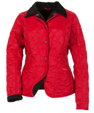 Womens Barbour Winter Liddesdale Polarquilt Jacket - Chilli Red