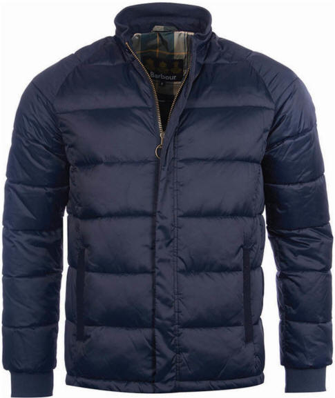 Men's Barbour Heritage Hectare Jacket - Navy