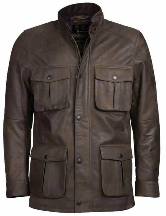 Barbour Corbridge Leather Jacket