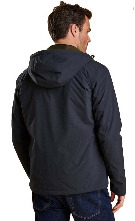 Barbour Mens Whitburn Waterproof Breathable Jacket Navy
