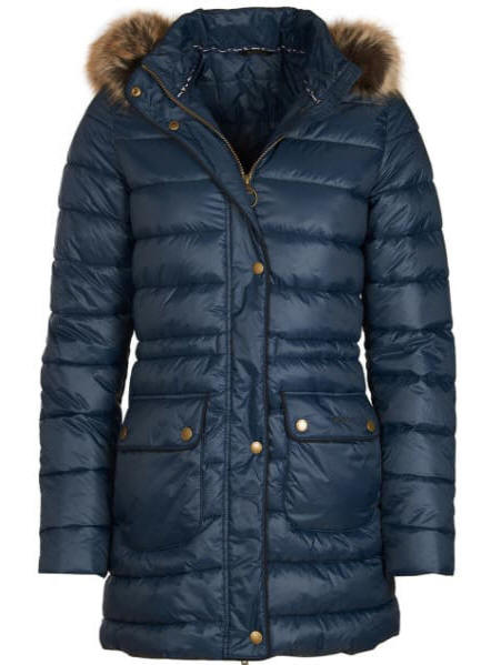 Women�s Barbour Redpoll Quilted Jacket - Navy