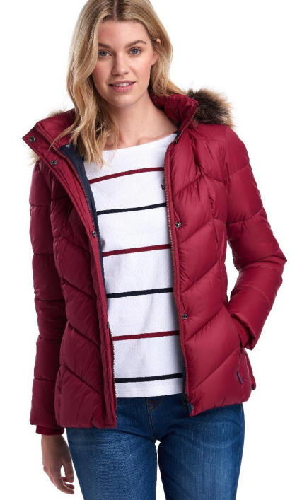 Barbour Downhall Quilted Jacket