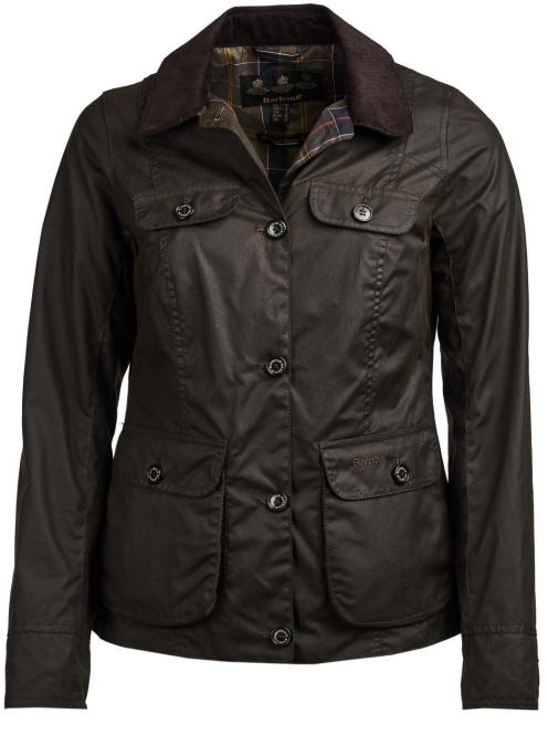 Barbour Nidd Waxed Cotton Jacket