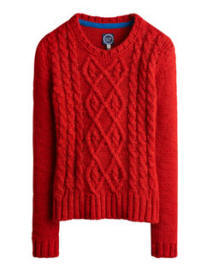 AVELYN Womens Cable Knit Jumper