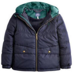 JNR ARGYLE Boys Padded Jacket
