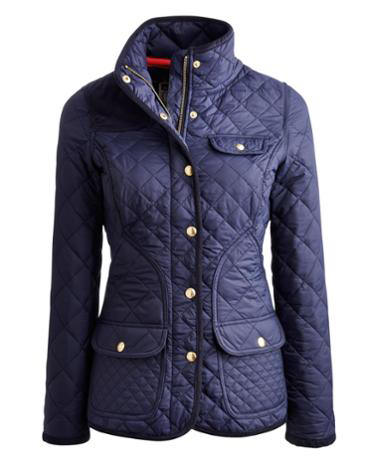 CALVERLY Womens Quilted Jacket