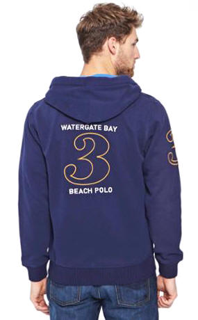 WATERGATEBAY Mens Hooded Sweatshirt