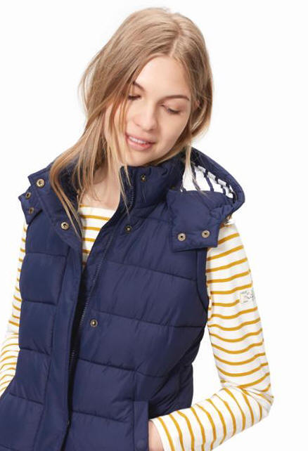 WAVELYDetachable Hood Gilet