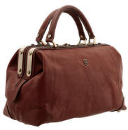 8126 THV - The Murino Italian Leather Gladstone Bag