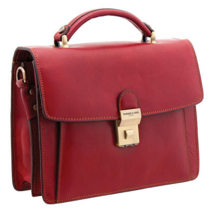 8124 THV - The Selva Italian Leather Grab Bag
