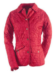 Ladies Barbour Tailor Quilted Jacket - Red