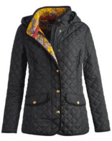 MARCOTTE Womens Hooded Quilted Jacket